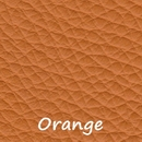Lederfarbe orange
